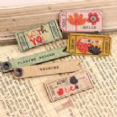Prima Wood Tickets (pack of 6)
